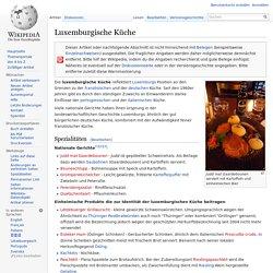 Luxemburgische Küche – Wikipedia