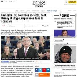 LuxLeaks : 35 nouvelles sociétés, dont Disney et Skype, impliquées dans le scandale