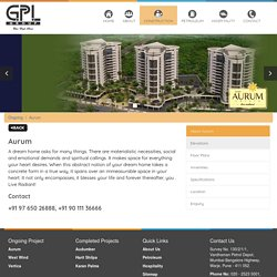 Aurum Estate – Luxurious Flats in Nashik Gangapur Road