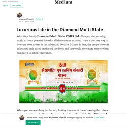 Luxurious Life in the Diamond Multi State
