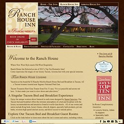 El Rancho Merlita Ranch House Blog - Part 2