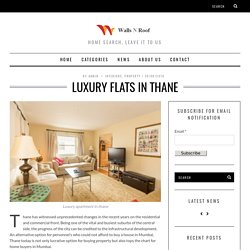 Luxury Flats in Thane