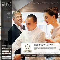 Manhattan Hotel Luxury Accommodations - Trump New York City Luxury Hotel