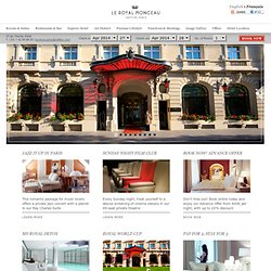 Homepage - Le Royal Monceau