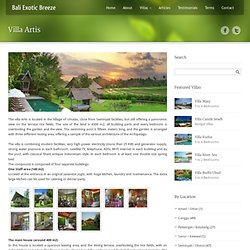 Luxury Bali Private Villas Rental