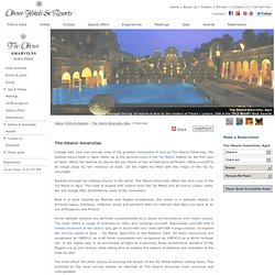 Resorts in Agra - The Oberoi Amarvilas, Agra