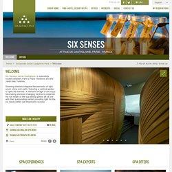 Luxury Spa Paris - Six Senses rue de Castiglione