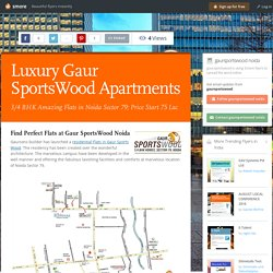 Luxury Gaur SportsWood Apartments