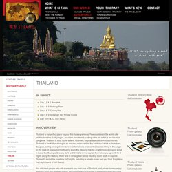 Luxury Travel: Thailand