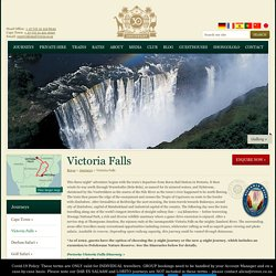 Luxury Train Tour To Victoria Falls – Travel Packages - Rovos Rail