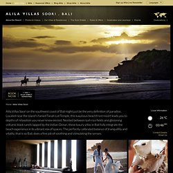 Alila Villas Soori Official Site