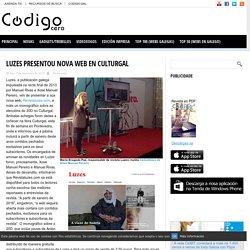 Luzes presentou nova web en Culturgal