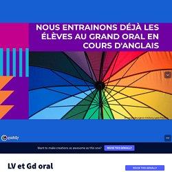 LVE et Grand oral (Véronique Bourgeois-Chichery)