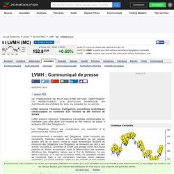 LVMH : Communiqué de presse