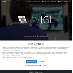 lwjgl.org - Home of the Lightweight Java Game Library