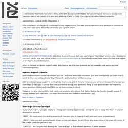 lxle_configuration - LXLE Linux Wiki