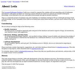 Leda > About Leda