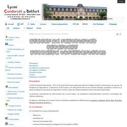 Lycée Condorcet Belfort - BTS CI