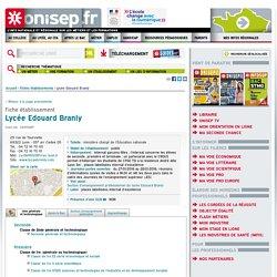 Lycée E Branly - 69 Lyon - Lycée Public