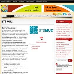 Lycée le Grand Chênois » BTS MUC