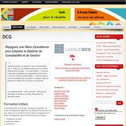 Lycée le Grand Chênois » DCG