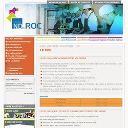 Lycée Notre Dame du RocLe Roc>Lycée Hôtelier>VIE QUOTIDIENNE>LE CDI