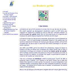 Lycée Paul Lapie - La Broderie perlée