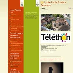Lycée Louis Pasteur Besançon