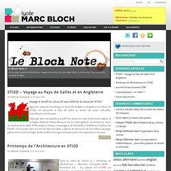 Enseignement technologique transversal - Lycée Marc Bloch