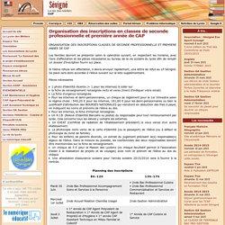 Lycée des Métiers Sévigné - Accueil du site