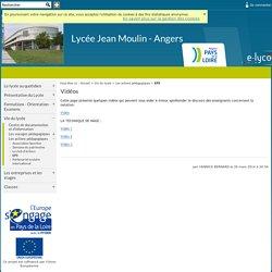 Lycée Jean Moulin - Angers - Vidéos