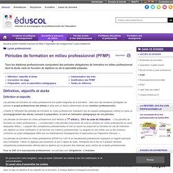 Lycée professionnel - PFMP