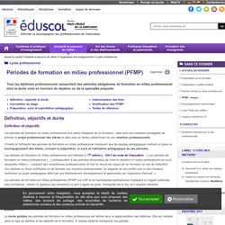 Lycée professionnel - PFMP - stages