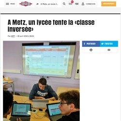 A Metz, un lycée tente la «classe inversée»