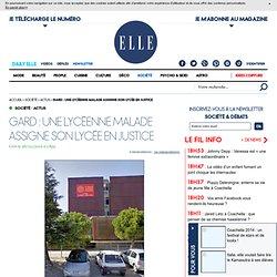 Gard : une lycéenne malade assigne son lycée en justice