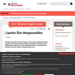 Lycées Eco-Responsables