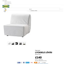 LYCKSELE LÖVÅS Chair-bed Ransta white