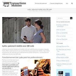 Lydia: paiement mobile avec QR code