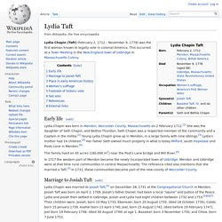 Lydia Taft