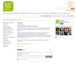 Suomen Mielenterveysseura - Lyhytelokuvakilpailu mielen hyvinvoinnista