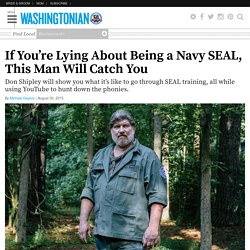 If You're Lying About Being a Navy SEAL, This Man Will Catch You