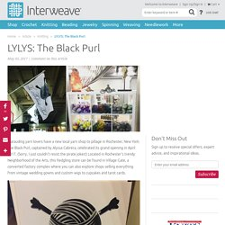 LYLYS: The Black Purl - Interweave