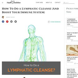 How To Do A Lymphatic Cleanse (And Boost Your Immune System) - Health Ambition