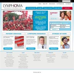 Home - Lymphoma Research Foundation - Welcome