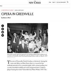 Opera in Greenville