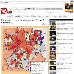 Lyon est bien la 2e métropole de France !