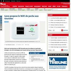 Lyon propose le WiFi de poche aux touristes