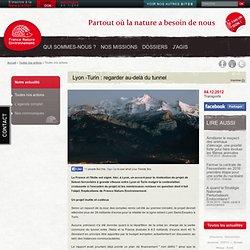 Lyon -Turin : regarder au-delà du tunnel