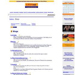 Lyon web blog : blogs des lyonnais ou de Lyon