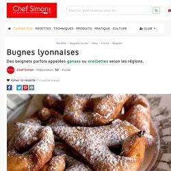 Bugnes lyonnaises - recette des bugnes de lyon (beignets de carnaval)